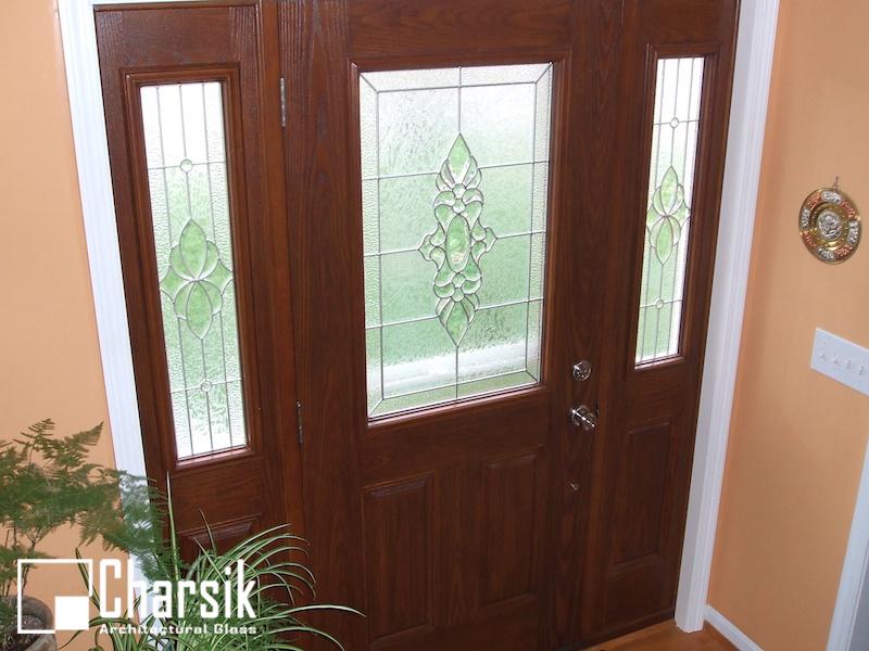 شیشه درب ورودی و لابی چارسیک