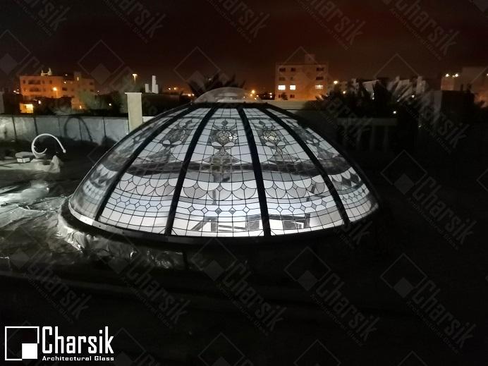 گنبد شیشه ای بوشهر پریشان