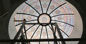 گنبد شیشه ای استین گلس بوشهر پریشان