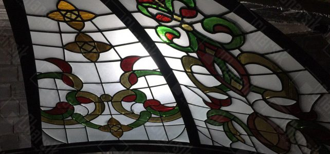 گنبد شیشه ای استین گلاس و تیفانی، طرحی بکر در ایران