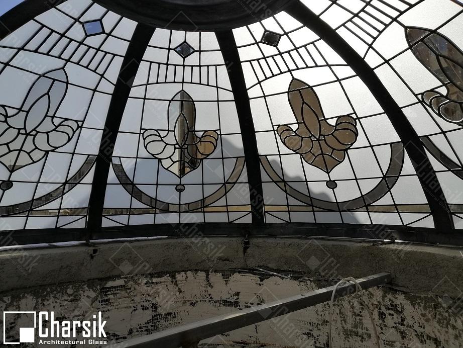 سقف شیشه ای لوکس و خاص چارسیک