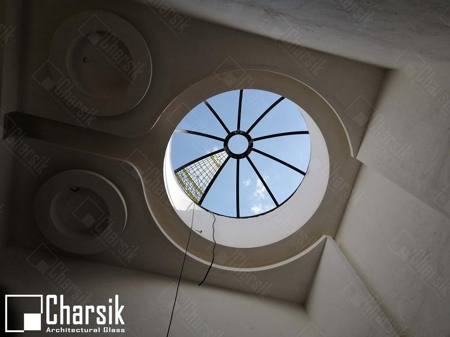 نورگیر سقفی تزئینی مدرن