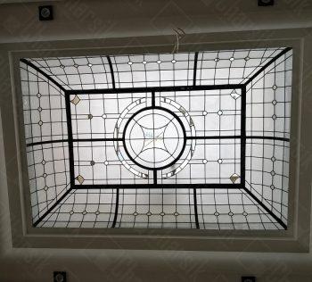 سقف شیشه رنگی لوکس جردن چارسیک