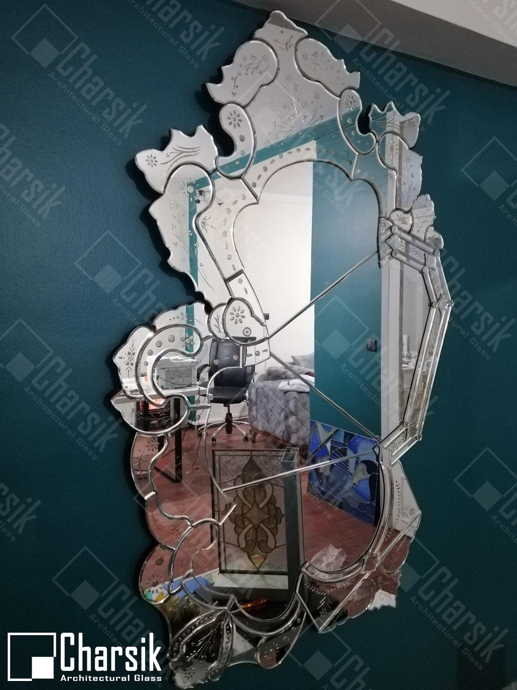 آینه ونیزی خاص و لوکس طرح ژکوند چارسیک