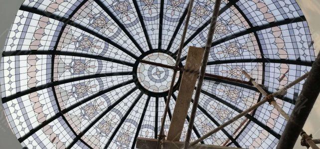 سقف شیشه ای تزئینی استیند گلس