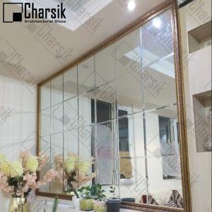 آینه جورچین دیواری چارسیک