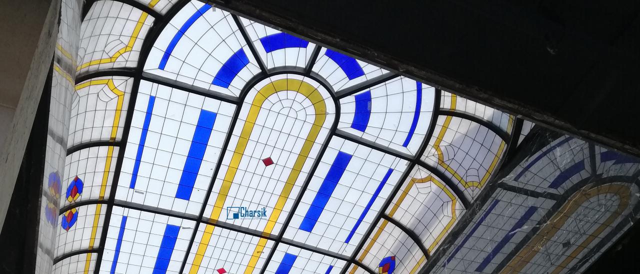 نورگیر سقفی استیندگلاس
