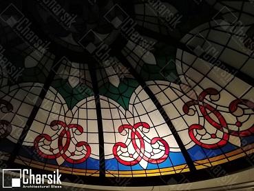نورگیر سقفی تزئینی