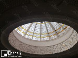 نورگیر سقفی تزئینی گنبدی